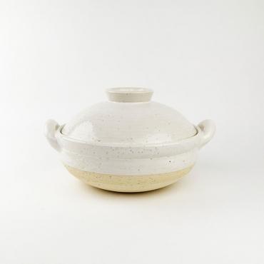 Mushi Nabe Steamer Donabe L White